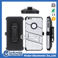 2017 new design Robot 3in1 holster belt clip case with kickstand for LG K10