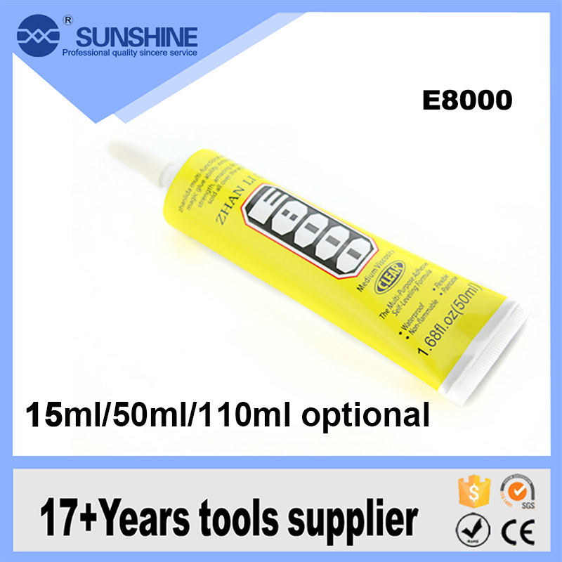E-8000 General Purpose Weather-Proof Silicone Sealant Glass Adhesive Glue