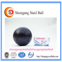 China steel ball latest products grinding media ball of iron core