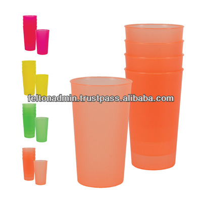 PP Plastic Glass- 4 in 1
