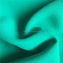 200D Polyester Fashion Four Way Stretch CEY Moss Crepe Double Face Fabric for Dress and Blouse