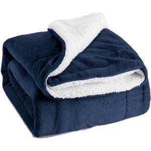 Cheap Super Soft Decorative Throw Queen Size Bed Sherpa Fleece Blanket
