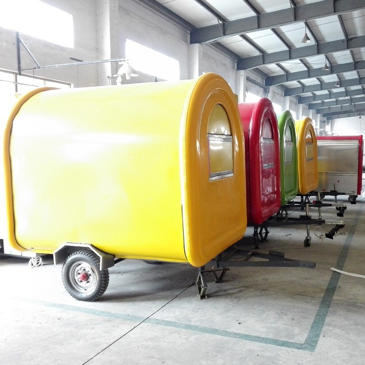 2018 new product hot dog cart/China factory price Mobile electric fast food truck for sale