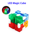 New Pressure Reduction Toy LED Light Magic Folding Cube Puzzle