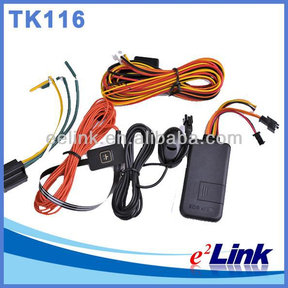 Vehicle GPS tracker/gps car tracker TK116 with ACC detection easy hide and simple to use