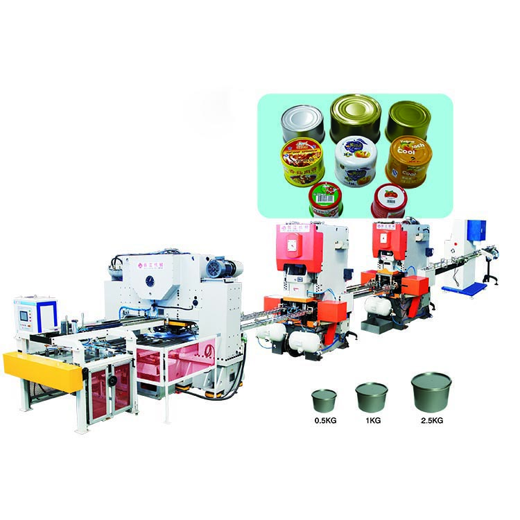 Automatic 2-Piece Can Making Machine whole line / Drinks tin can