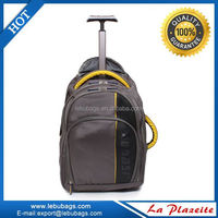Popular Travel laptop trolley bag, laptop backpack with trolley