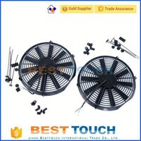 CUSTOM RADIATOR TA22 GT 2TG MT plastic 80W car fan for Toyota