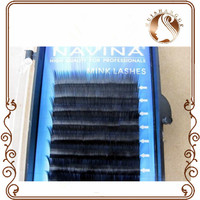 cheap selling false fashoin synthetic fiber strip korean eyelash extensions