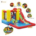 Happy hop Amusement Park Inflatable Water Slide-9271 Bouncer Slide Castle