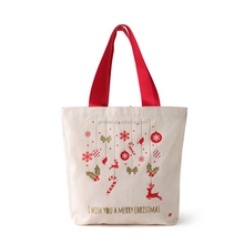 Fashion Lady Canvas Shoulder Holiday Canvas Shopping Bag