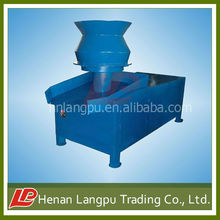 Flat mold sawdust charcoal briquette machine from Langpu trading company