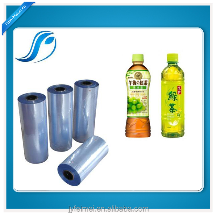 PVC Shrink Sleeve Film In Rolls For Full Body Sleeves