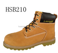 nubuck material water-proof 6 inch hiker design wheat leather shoes work boots