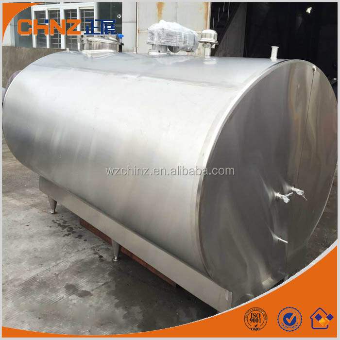high efficiency directly milk cooling tank for dairy farm