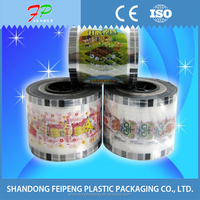 plastic customized milktea cups bowl heat Sealing membrane