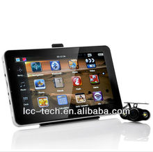 7 inch gps navigation with AV-IN function connect with wireless rear view car camera