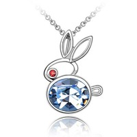 Cheap Fashion Jewelry Made in China Swarovski Element Crystal Accessories Necklace
