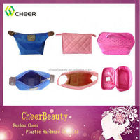 different kind beautiful hot sale pink promotional cosmetic bag