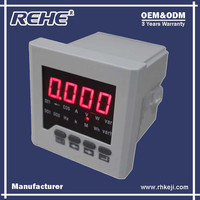 Free Sample Available Multifunction Digital Panel Digital Multimeter with RS-485