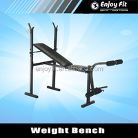 Incline / Flat Exercise Free Weight Bench w/ Leg Extension