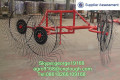 Small Tractor PTO driven mini hay rake