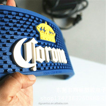 Custom soft pvc Corona bar mat