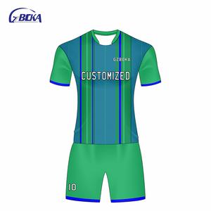 d094add75 Wholesale sublimation polyester set soccer jersey tshirts australian football  jerseys