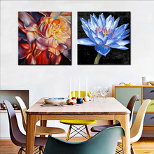 Wall art home decoration acrylic photo printing on glass