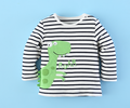 Mom and bab wholesale baby children clothes body suit boys cotton T-shirt factory price