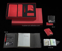Business promotional notebook gift set in high quality