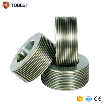 TOBEST thread rolling dies DC53 D2 flat thread rolling dies for sale