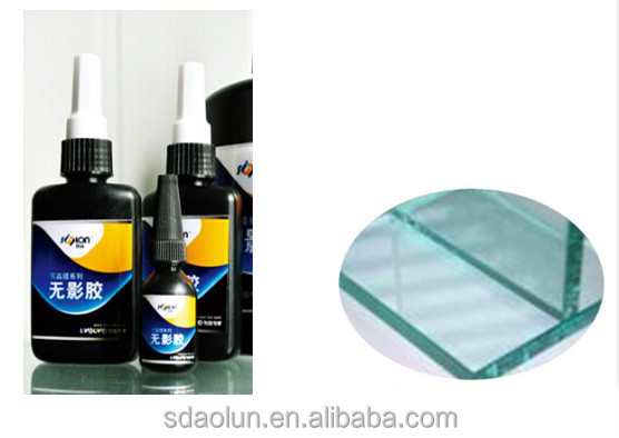 uv light cure adhesives for glass/uv glue for crystal