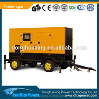 Factory price 250kva portable diesel generator set by SDEC engine (SC9D340D2)
