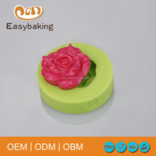 China Peony Flower Fondant Silicone Cake Mold Baking Tools