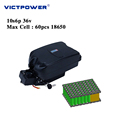 Lithium battery 36v 20ah 10s6p 720wh electric bicycle battery pack victpower