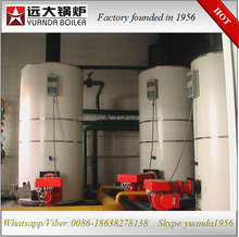 500kg half ton gas/oil fired vertical steam boiler