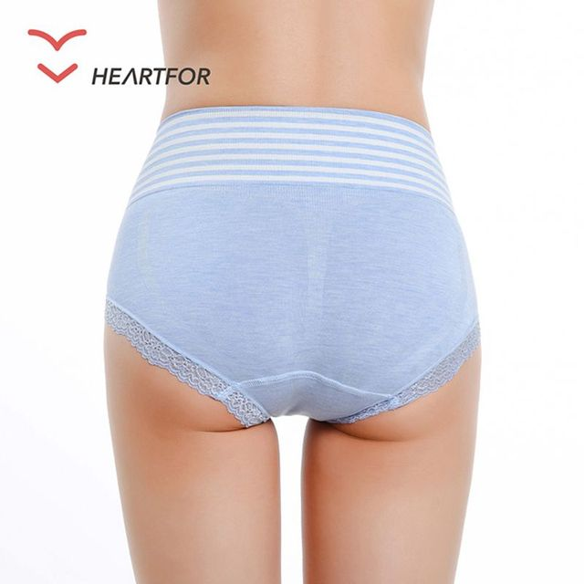 Fashion European Plus Size Women Panties Cotton Briefs Fashion Panties
