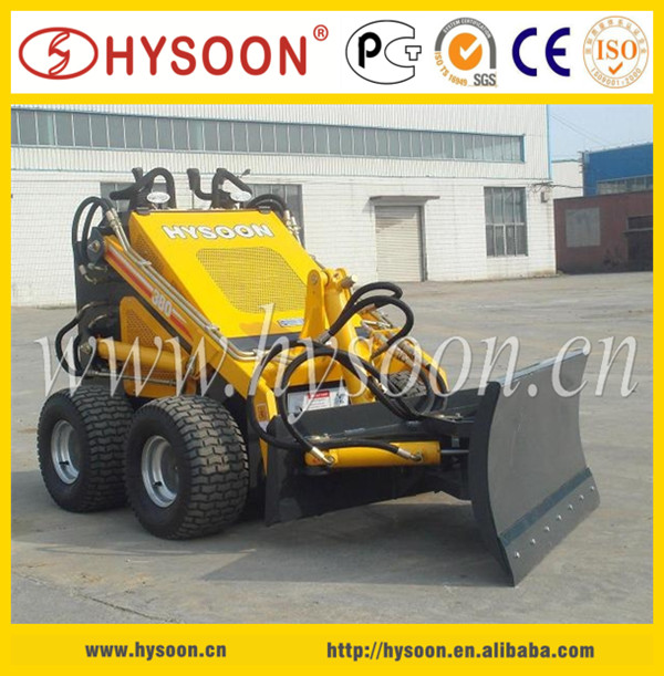 Mini skid steer loader snow blower, snow pusher machines to remove snow