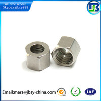 Stainless steel hex union nut