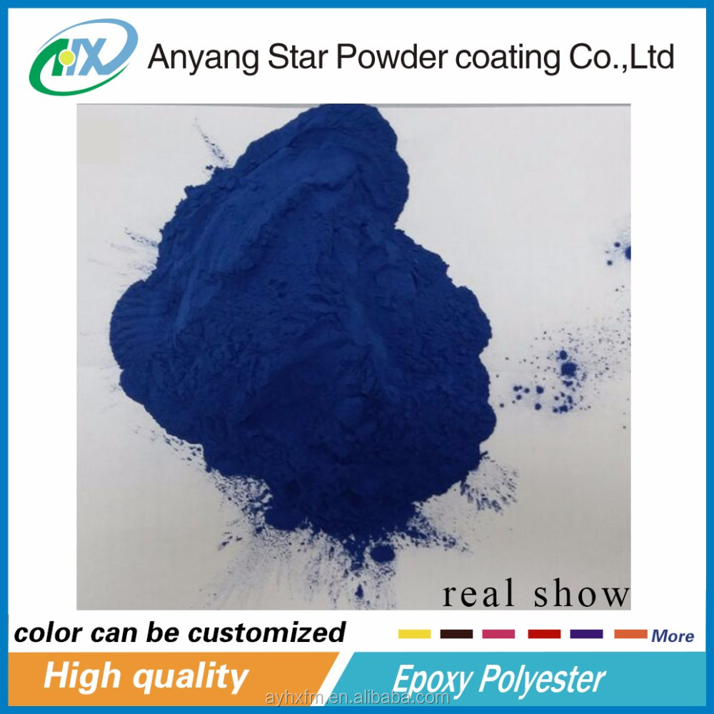 Anyang High Quality GURANTEE Fluorescent recycled boat furniture thermosetting powder coating