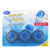 blue flush toilet bowl cleaner, toilet block