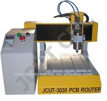Metal Structure Professional Multi-functional Desktop PCB CNC Drilling and Routting Router JCUT-3030