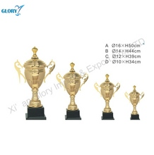 Wholesale Golden Silver Cup Trophy Supply for Souvenir