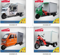 China 3 wheel delivery van prices