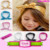 Top Quality Boutique Kids Baby Children Feather Pattern Hairbands Turban Knotted Rabbit Headwraps Mom And Bab Head bands Flower
