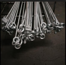 hot dip galvanized stay rod with rolling turnbuckle