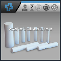 Wooden pallet with carton ptfe rod