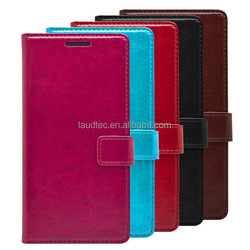 Hot Sale PU Leather Wallet Flip Mobile Phone Case Cover for lenovo-a7010 & k4 note