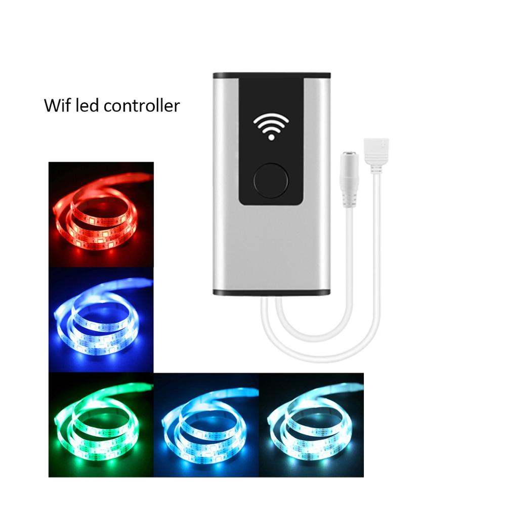 DC12/24V Wifi RGB/RGBW led <strong>controller</strong> smartphone set time modus, tuya smart home mini wifi led rgb <strong>controller</strong>